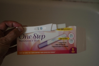 test de grossesse/pregnancy test (1/07/08)